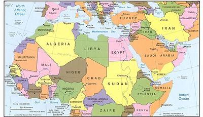 Cartina Italia E Africa.Piano Europeo Per Investimenti Esterni Federunacoma